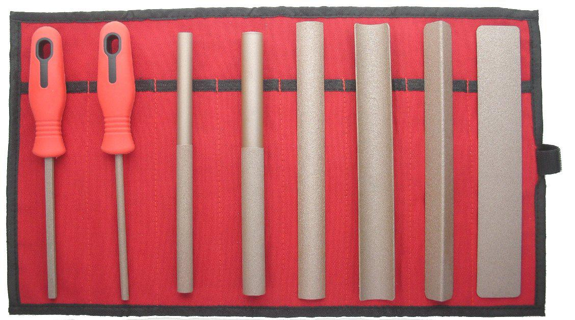 Set of 8 Hand Tools in a Roll Fine